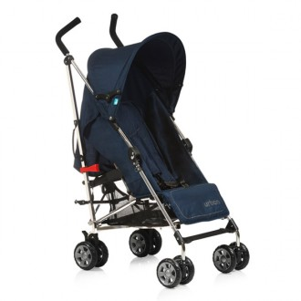 Pushchair Urban Plus Navy blue chrome chassis