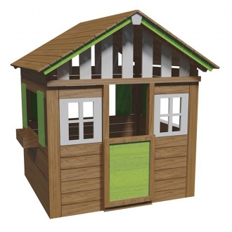 Casita Lollipop XL verde Masgames
