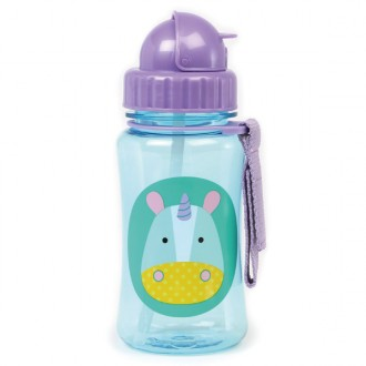 Zoo bottle vaso de aprendizaje unicornio