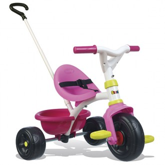 Triciclo Be Fun 2 en 1 rosa