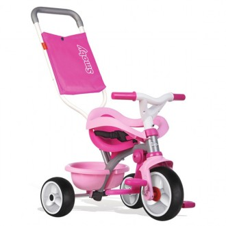Triciclo evolutivo be move confort rosa