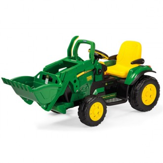 Tractor John Deere Ground loader 12V Peg Perego