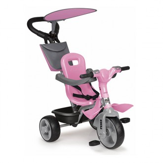 Triciclo Trike Baby Plus Music  rosa