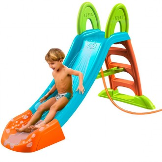 Toboggan slide plus