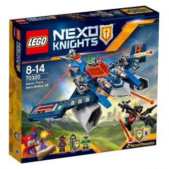 Nexo knights Aaron Fox aero striker v2 70320