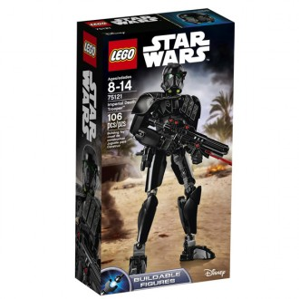 Star Wars Imperial death trooper per costruire 75121
