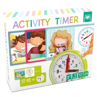 Activity timer aprende las horas del reloj