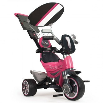 Triciclo body color rosa
