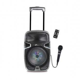 Karaoke Trolley con Bluetooth e luci