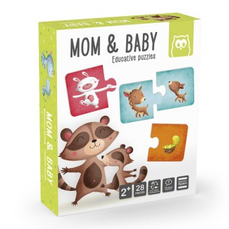 Mom & Baby puzzle educativo