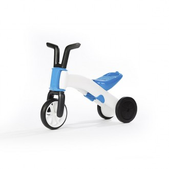Cavalcabile e bicicletta 2 in 1 bunzi stable balance ride-on blue