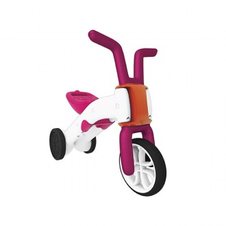 Andador e bicicleta 2 em 1 Bunzi stable ride-on pink