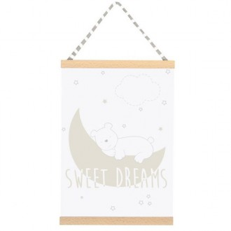 Quadro Sweet dreams beige 42 x 30