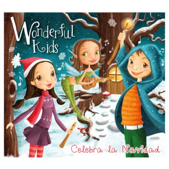 Cd musicale wonderful kids navidad lingua castellano