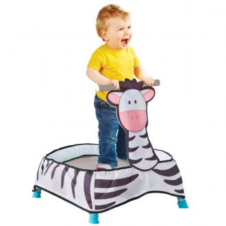 Trampolino zebra Kid Active