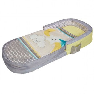 Lettino da viaggio gonfiabile  My first Readybed nuvole