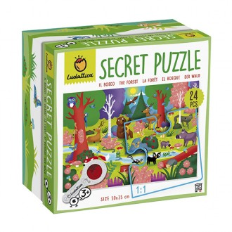 Puzzle secreto del bosque