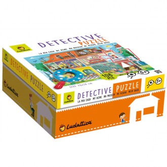 Puzzle baby detetive 108pcs My Home
