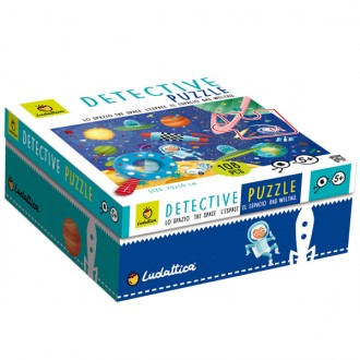 Puzzle baby detective 108pcs The Space