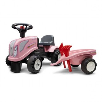 Trattore rosa New Holland