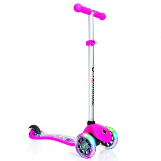 Monopattino PRIMO Fantasy flowers scooter with lights