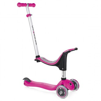 Patinete 4 en 1 GO UP rosa