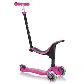 Patinete GO UP 4 en 1 Lights rosa
