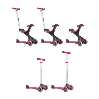Patinete GO UP Comfort 5 em 1 new red