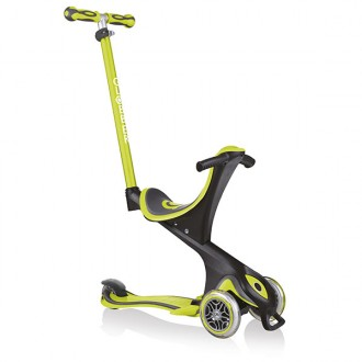 Patinete Evo Comfort 5 en 1 lime green