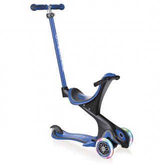Patinete GO.UP comfort lights azul