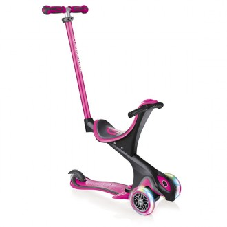 Patinete GO.UP comfort lights rosa