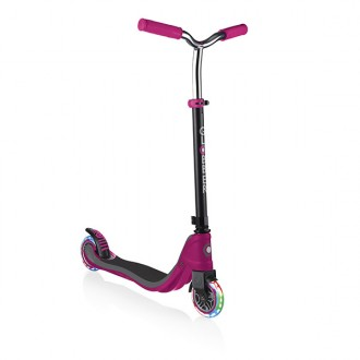 Trotinete Flow 125 Lights rosa e cinzenta