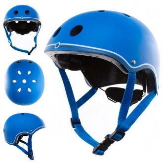 Casco junior azul