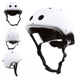Casco junior blanco