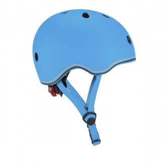 Casco GO UP Lights Sky Blue