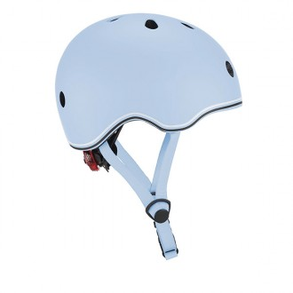 Casco GO UP Lights azul pastel