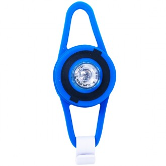 Lanterna led flash light azul