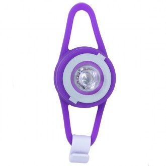 Linterna led flash light lila