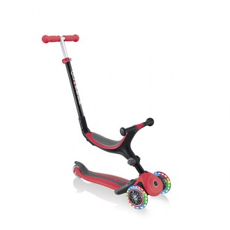 Patinete Go Up Foldable Plus lights rojo