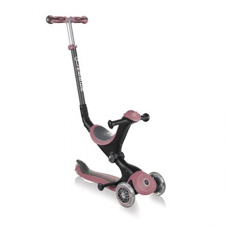 Patinete GO.UP Deluxe color rosa pastel