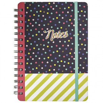 Libreta de topos flowers and friends