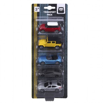 Set 5 coches