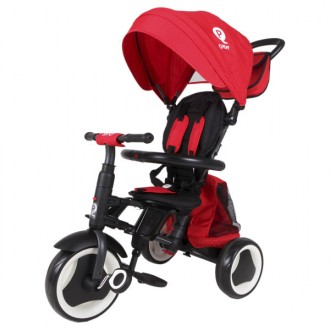 Triciclo Rito PLUS Plegable rojo de QPlay