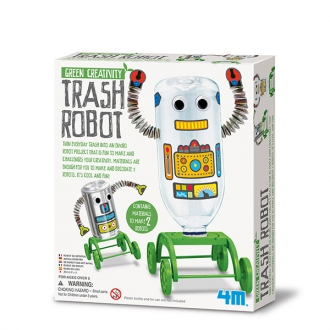 Green Science robot reciclado