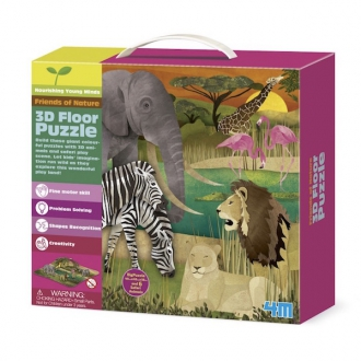 Thinking Kits puzzle 3D safari