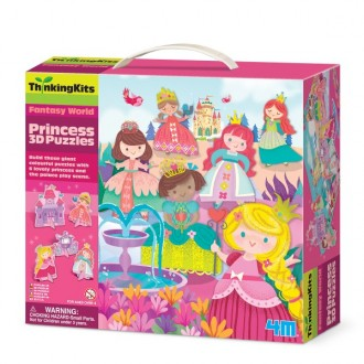 Thinking Kits puzzle 3D princesas
