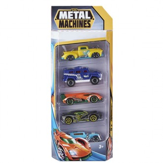 Coches metal machines naranja