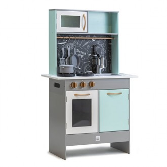 Cocinita Retro Green Play Kitchen