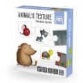 Animals texture puzzle educativo