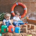 Cubos apilables nesting pails play beach
